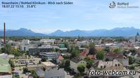 Rosenheim: RoMed Klinikum - Blick nach Südwesten - Actuales