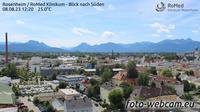 Rosenheim: RoMed Klinikum - Blick nach S�dwesten - Overdag