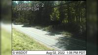 Skykomish: US  at MP .: th St - Dagtid