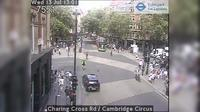 London: Charing Cross Rd - Cambridge Circus - Jour