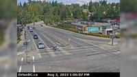 Mission > North: , Hwy  at Hwy  approaching - looking north - El día