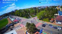 Suceava › North-West: Stadionul Areni - Direcţia Silvică Suceava - Stefan cel Mare University - Bulevardul 1 Mai - Strada Universității - Day time