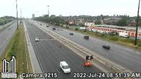 Etobicoke: Gardiner Expwy near Grand Ave - Day time