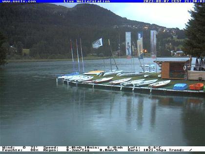 Lenzerheide/Lai: Wassersportcenter SSCLV, Heidsee - Valbella