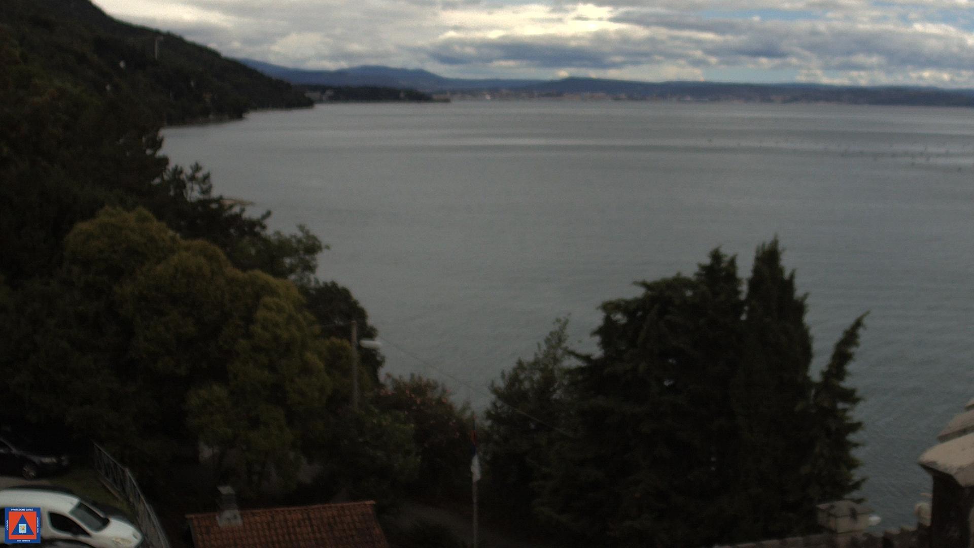 Webcam Duino-Aurisina: Trieste S. Croce