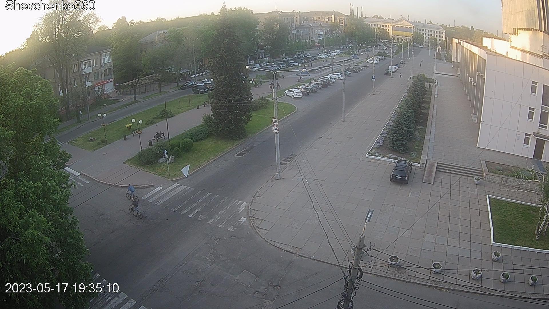 Webkamera Voznesenka: бульвар Шевченко