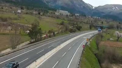 Webkamera Poggio Cinolfo: A24 Carsoli