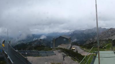 Vista de cámara web de luz diurna desde Hammersbach: Alpspix