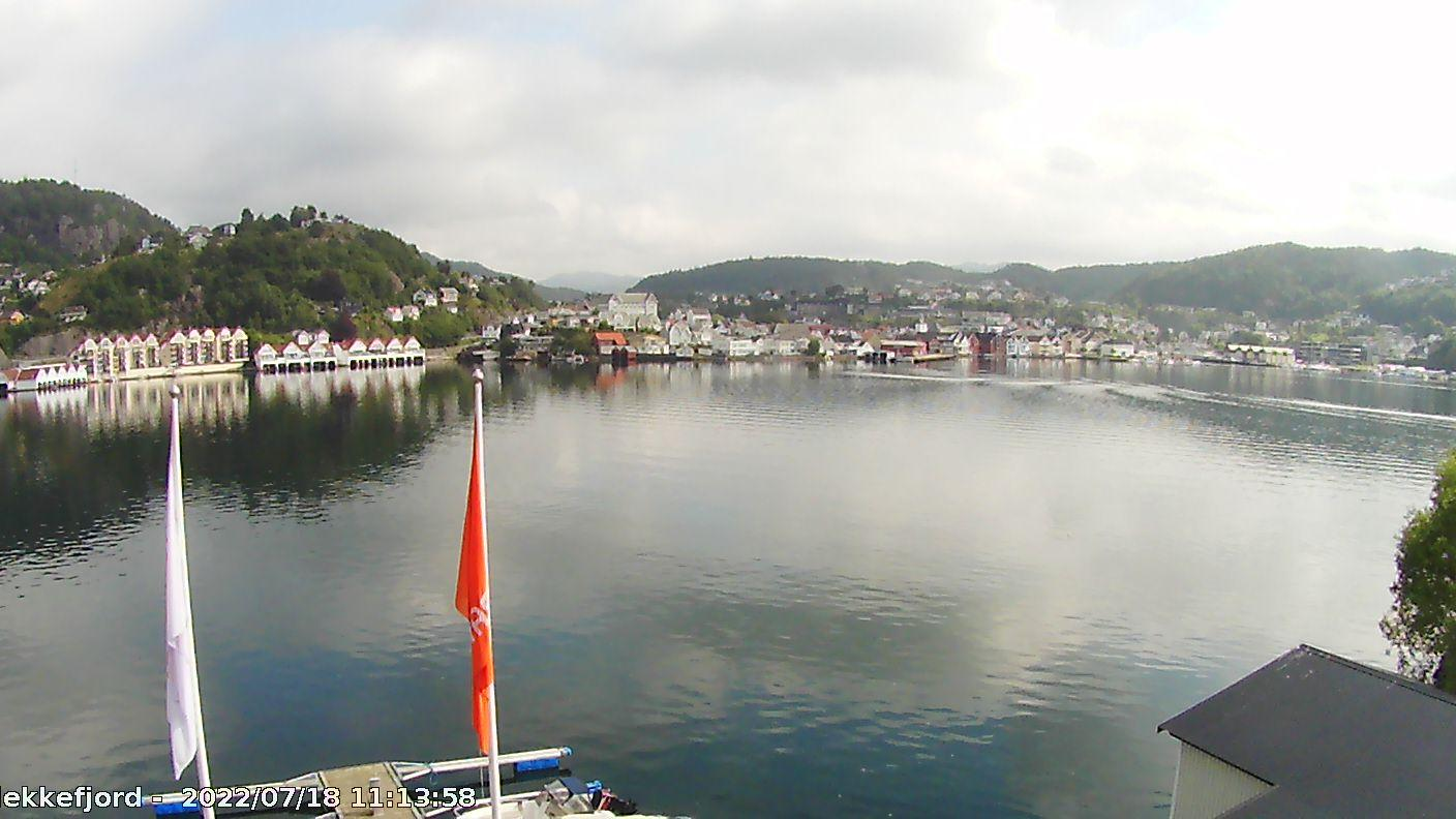 Webcam Flekkefjord, Flekkefjord, Vest-Agder, Norwegen