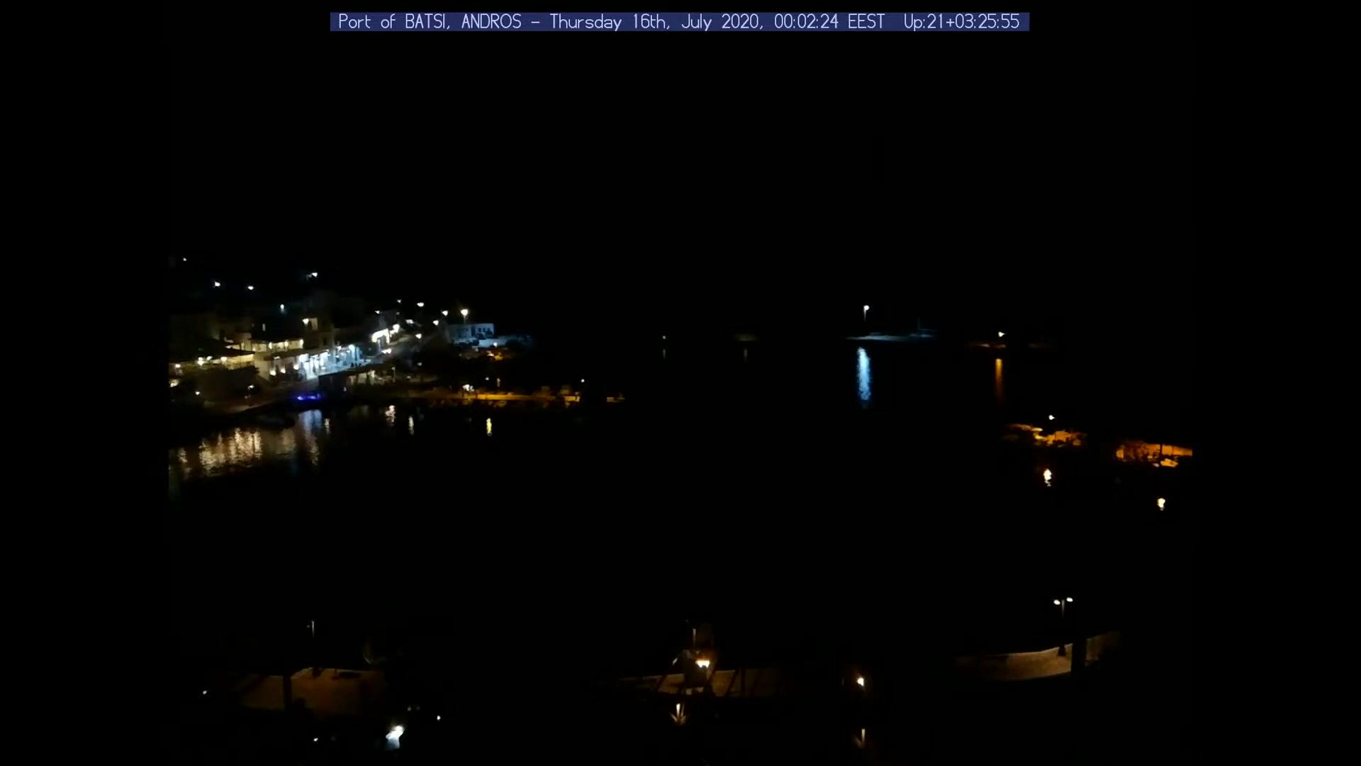 Webcam Batsi › South: Port of − The traditional port of −