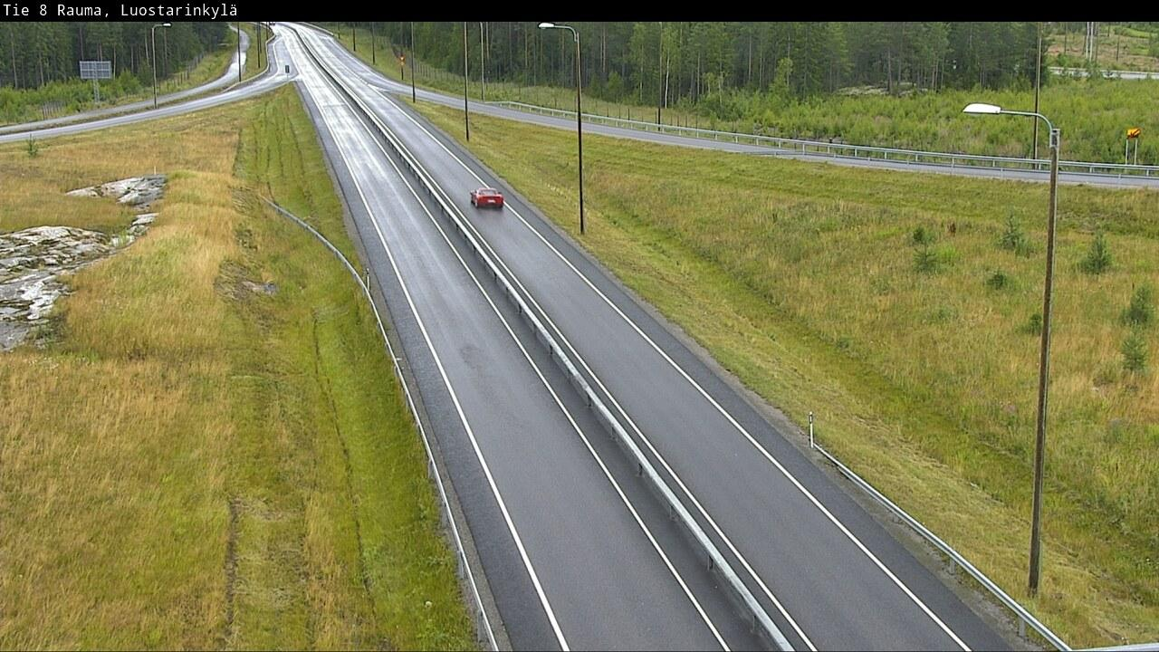 Webcam Rauma: Tie 8 − Impivaara − Poriin