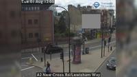 London: A New Cross Rd/Lewisham Way - El día