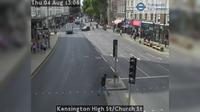 London: Kensington High St/Church St - Overdag