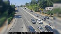 Mission > West: , Hwy  at Hwy  approaching - looking west - Overdag