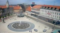 Osijek: Trg Ante Starčevića - Overdag