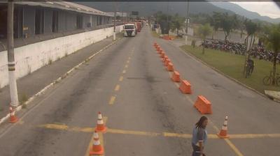 Vue webcam de jour à partir de São Sebastião: Ilhabela − Fila Da Balsa