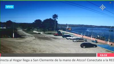 Daylight webcam view from San Clemente del Tuyu › East: Atcco SRL