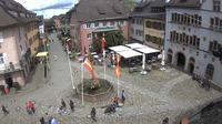 Staufen im Breisgau: Marktplatz - Dia