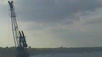 Dietrichsdorf: Kiel - Förde vom Ostuferhafen aus gesehen