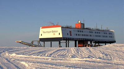 Vue webcam de jour à partir de Neumayer Station: Icy Views in Ny Alsund, Neumayer