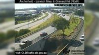 Brisbane City: Archerfield - Granard Road and Ipswich Motorway (looking South) - El día