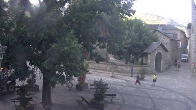 Benasque: Plaza del Ayuntamiento, Huesca - n