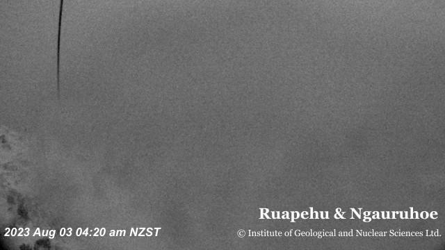 Webkamera Whakapapa Village: Ruapehu & Ngauruhoe volcano