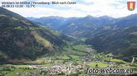 Ultima vista de la luz del día desde Winklern: im Mölltal − Penzelberg − Blick nach Osten