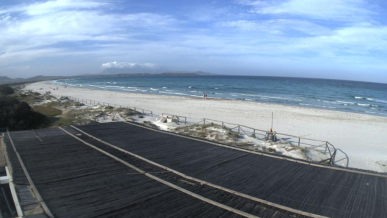 Webkamera Spiaggia de La Cinta › North-East: La Cinta