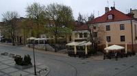 Sandomierz: Rynek w Sandomierzu - widok na ratusz - Actuelle