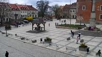 Sandomierz: Rynek w Sandomierzu - widok na ratusz - Dia