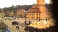 Brasov: Public Place - Council Square (Piața Sfatului) - Council Square (Piața Sfatului), Black Church, indoor and outdoor terraces and restaurants, the Orthodox Cathedral, Mount Tâmpa - Dia