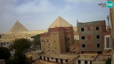 Tageslicht webcam ansicht von Cairo: Live Webcam The Pyramids of Giza & the Sphinx