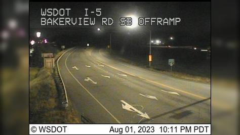 Webcam Alderwood: Bakerview, SB Offramp