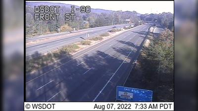 Current or last view from Issaquah: I 90: Front St