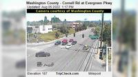 Hillsboro: Washington County - Cornell Rd at Evergreen Pkwy - Overdag