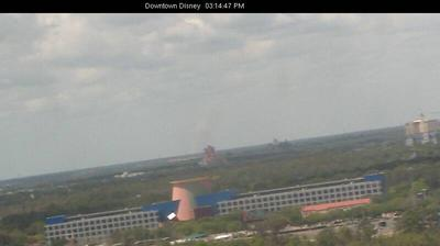 Vue webcam de jour à partir de Walt Disney World: Epcot − Planet Hollywood Super Store − Downtown Disney Area