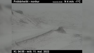 Current or last view from Reykholt: Þyrill