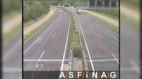 Arnoldstein: A, bei Anschlussstelle - Blickrichtung Villach - Km , - Dia