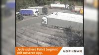 Ampass: A, bei Raststation - Blickrichtung LKW-Stellplatz - Km , - Overdag