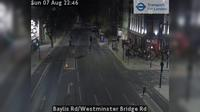 London: Baylis Rd/Westminster Bridge Rd - Actuelle