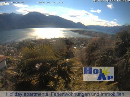 Brione sopra Minusio › Süd: Minusio - Locarno - Ascona - Gambarogno - Brione - Langensee