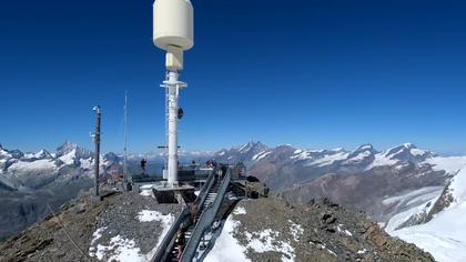 Zermatt: Trockener Steg