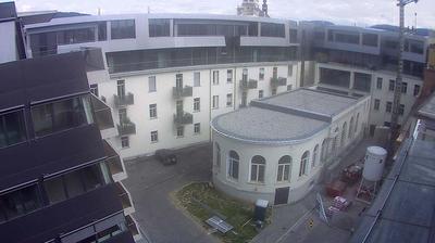 Tageslicht webcam ansicht von Graz: Südtirolerplatz Feuerbachgasse Defreggergasse