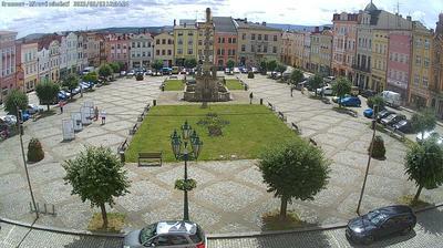 Vista de cámara web de luz diurna desde Broumov