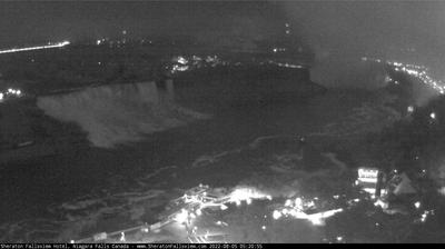 Current or last view from Niagara Falls: Hotel Cam at Sheraton