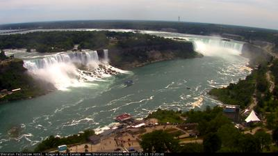 Daylight webcam view from Niagara Falls: Hotel Cam at Sheraton