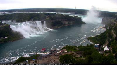 Vue webcam de jour à partir de Niagara Falls: Hotel Cam at Sheraton