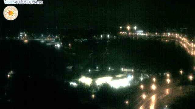 Webcam Bryggareberget: Karlskrona stad