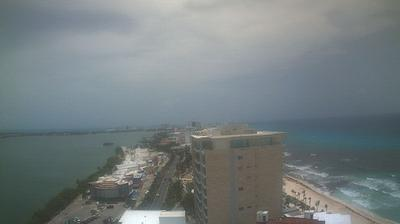 Daylight webcam view from Cancún: Panorámica